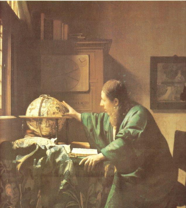 O Astrónomo - Vermeer