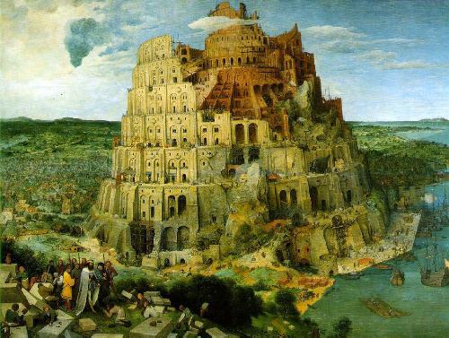 A construção da Torre de Babel