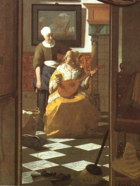 Uma Carta de Amor - Vermeer