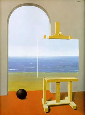 A Condição Humana - magritte (1935)