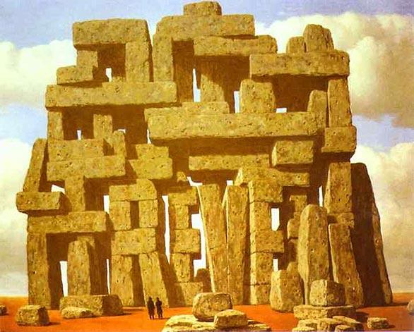 A Arte da Conversação - Magritte