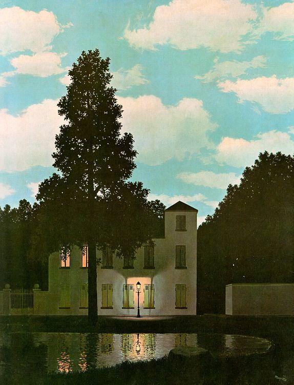 O Império da Luz - Magritte