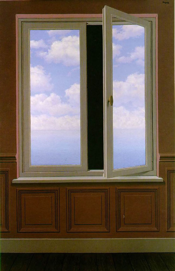 Magritte - Lunette Approche, 1963