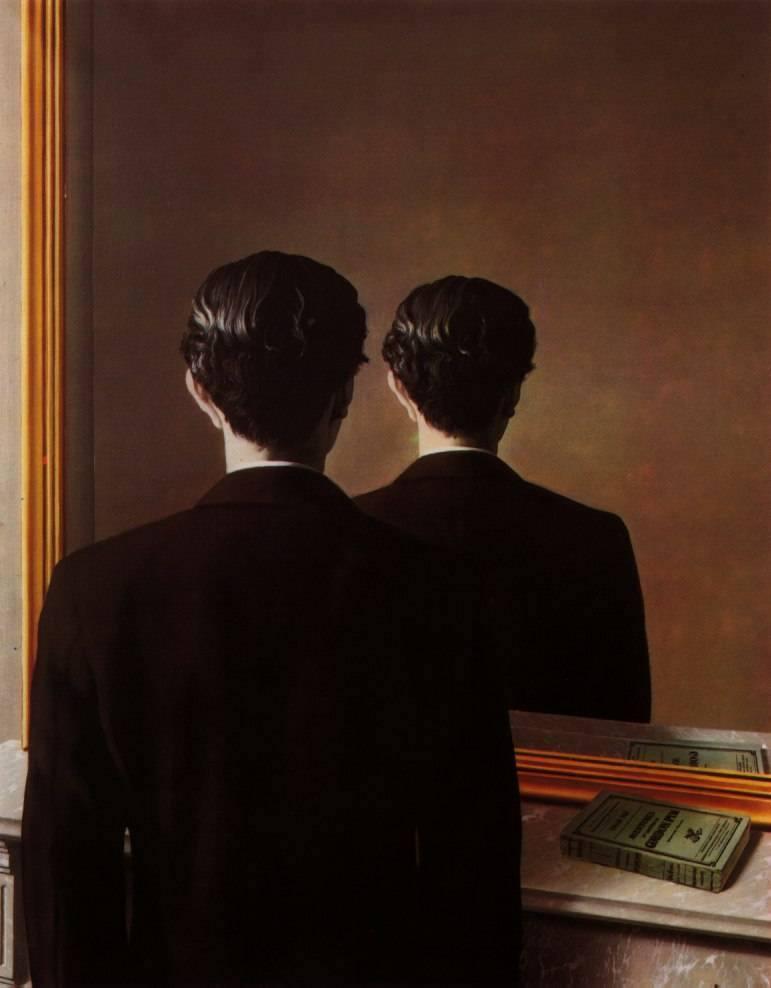 A Reprodução Interdita - Magritte
