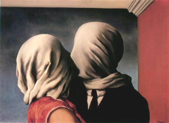Os Amantes - Magritte (1928)