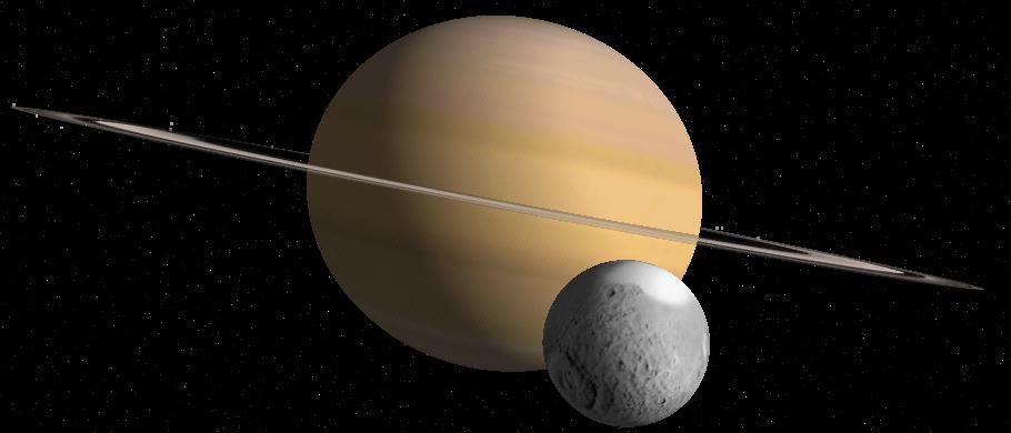Tétis e Saturno